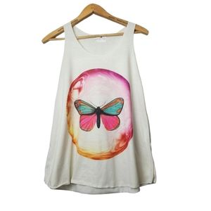 🏖Migration Butterfly Graphic Print Tank